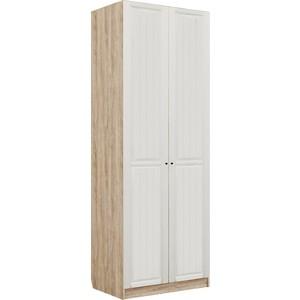 Шкаф гардеробный Комфорт - S Богуслава М2 дуб баррик светлый/крем брюле