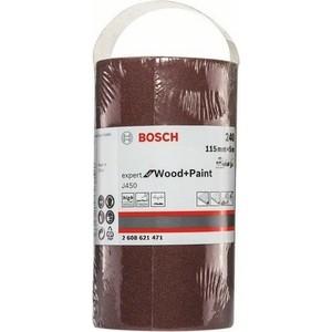 Шлифрулон Bosch J450 Expert for Wood+Paint 115x5000 мм K240 (2.608.621.471)