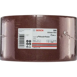 Шлифрулон Bosch J450 Expert for Wood+Paint 115x50.000 мм K180 (2.608.621.487)