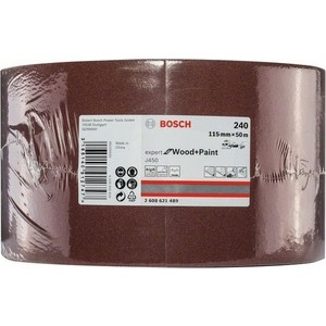 Шлифрулон Bosch J450 Expert for Wood+Paint 115x50.000 мм K240 (2.608.621.489)