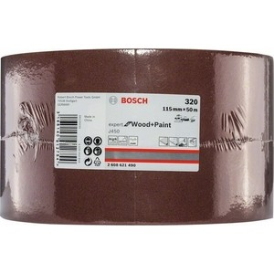 Шлифрулон Bosch J450 Expert for Wood+Paint 115x50.000 мм K320 (2.608.621.490)