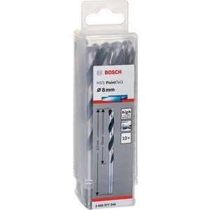 Сверло по металлу Bosch 10шт HSS PointTeQ 8 мм (2.608.577.248)