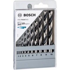 Набор сверл по металлу Bosch HSS PointTeQ 10шт D1-10 (2.608.577.348)
