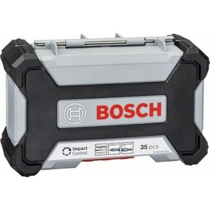 Набор бит и сверл по металлу Bosch Impact Control Кейс L 35шт (2.608.577.148)