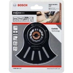 Пильное полотно Bosch StarlockMax Carbide сегментированное 145 мм MACZ MT4 (2.608.664.227)