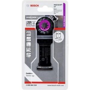 Полотно пильное Bosch погружное StarlockPlus Carbide 32x50 мм Multi-Material PAIZ 32 APT (2.608.664.218)