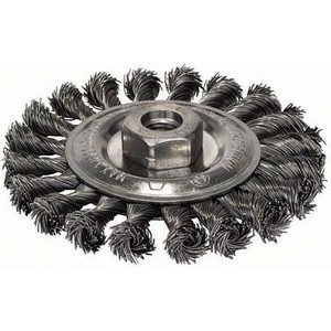 Корщетка Bosch М14, 0,5х115 мм пучки, сталь (2.609.256.512)