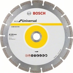 Алмазный диск Bosch Universal 230-22,23 ECO (2.608.615.031) алмазный диск bosch universal turbo 180 22 23 eco 2 608 615 038