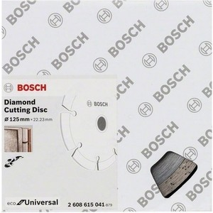 Диск алмазный Bosch 10шт Universal 125-22,23 ECO (2.608.615.041)