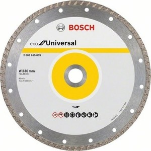 Алмазный диск Bosch 10шт Universal Turbo 230-22,23 ECO (2.608.615.048)
