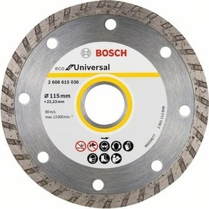 Диск алмазный Bosch 10шт Universal Turbo 125-22,23 ECO (2.608.615.046)