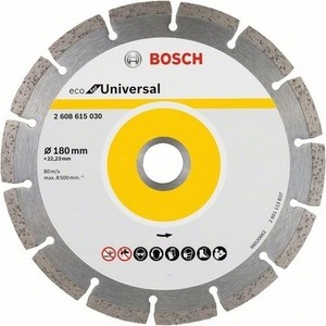 Алмазный диск Bosch Universal 180-22,23 ECO (2.608.615.030) алмазный диск bosch universal turbo 180 22 23 eco 2 608 615 038