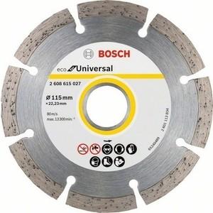 Диск алмазный Bosch 10шт Universal 115-22,23 ECO (2.608.615.040)
