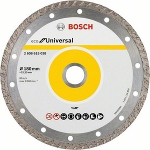 Алмазный диск Bosch 10шт Universal Turbo 180-22,23 ECO (2.608.615.047)