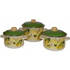 Набор эмалированной посуды 3 предмета Appetite №19 Citrus 6KB191M