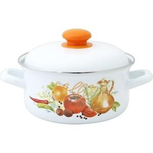 Кастрюля эмалированная 1.5 л Лысьвенские эмали Итальянская кухня 1508АП2/4 цены онлайн
