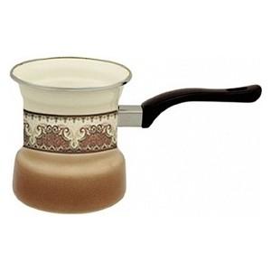 Турка эмалированная на 4 чашки Metrot Терракот (099415)