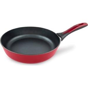 Сковорода d 22 см НМП Титан Бордо (9722)