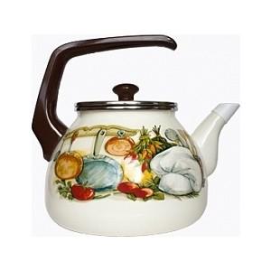 Чайник эмалированный 3.0 л Interos Кухня 3.0л 15156