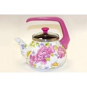 Чайник эмалированный 2.2 л Interos Пион 2.2л 2545