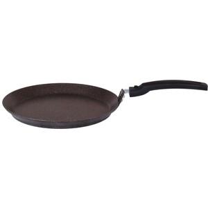 Сковорода d блинная 20 см Kukmara Кофейный мрамор (сбмк200а) сковорода d 22 см kukmara мраморная смк227а кофейный мрамор
