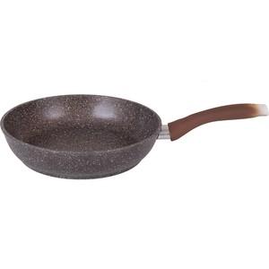 Сковорода Kukmara d 24см Кофейный мрамор (смк241а)