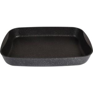 Противень 40х29.5х5 см Kukmara Темный мрамор (пмт03а)