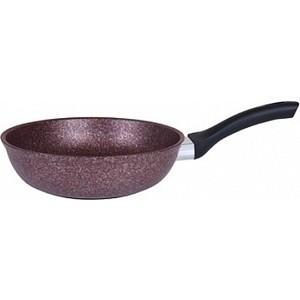 Сковорода d 26 см Kukmara Granit ultra red (сга260а) сковорода d 24 см kukmara кофейный мрамор смки240а