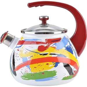 Чайник эмалированный со свистком 2.5 л Laurel Life in emotions (L92711LiEm4) цена