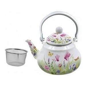 Чайник эмалированный 1.5 л Appetite Примавера (FT11-PR)