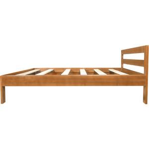 Кровать Экомебель Валенсия массив сосны, дуб (120x200)
