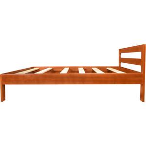 Кровать Экомебель Валенсия массив сосны, тик (140x200)