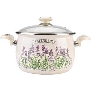 Кастрюля эмалированная 5.0 л Laurel Lavender (L91916)