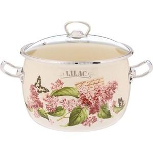 Кастрюля эмалированная 5.0 л Laurel Lilac (L91916) цена 2017