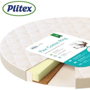 Матрас детский Plitex Flex Cotton Ring 740х740х90 мм