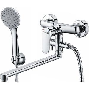 Смеситель для ванны Wasserkraft Vils 5600 с длинным изливом (5602L) недорго, оригинальная цена