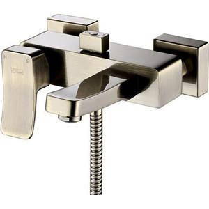 Смеситель для ванны Wasserkraft Exter 1600 бронза светлая (1601)