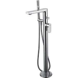 Смеситель для ванны Wasserkraft Dinkel 5800 напольный (5821)