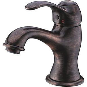 Смеситель для раковины Wasserkraft Isar 1300 бронза темная (1303)