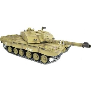 Радиоуправляемый танк Heng Long British Challenger 2 PRO 2.4GHz масштаб 1:16 - 3908-1PRO knl hobby heng long russian t 90 1 16 scale 2 4ghz r c main battle tank 3938 1 ultimate metal version metal gear tracks somke