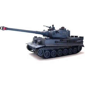 2 4ghz henglong gray german tiger i 1 16 scale rtr rc tank metal tracks wheels 3818 360 degrees rotation turret Радиоуправляемый танк Zegan Tiger I масштаб 1:28 RTR 27Mhz - 99807