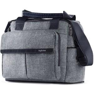 Сумка для коляски Inglesina DUAL BAG, цвет N.BLUE MELANGE сумка рюкзак для коляски inglesina back bag aptica cashemire beige