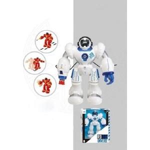 Радиоуправляемый робот Shantou Gepai Universe (стреляет, свет, звук, ИК порт) - A1002296TE-W трек shantou gepai волшебный поезд свет звук поезд 1шт аксессуары