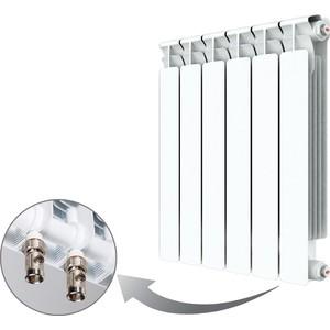 Радиатор отопления RIFAR ALP VENTIL 500 6 секций биметаллический нижнее правое подключение (R50006AVR) стоимость