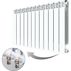 Фото - Радиатор отопления RIFAR ALP VENTIL 500 12 секций биметаллический нижнее правое подключение (R50012AVR) биметаллический радиатор rifar monolit ventil 500 5 сек прав кол во секций 5 мощность вт 980 подключение правое