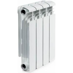 Радиатор отопления RIFAR ALUM 350 4 секции аллюминиевый боковое подключение (RAL35004) радиатор отопления rifar base 350 4 секции
