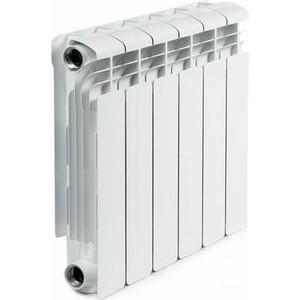 цена на Радиатор отопления RIFAR ALUM 350 6 секций аллюминиевый боковое подключение (RAL35006)