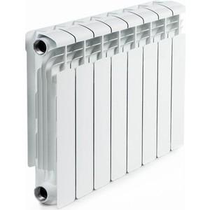 цена на Радиатор отопления RIFAR ALUM 350 8 секций аллюминиевый боковое подключение (RAL35008)