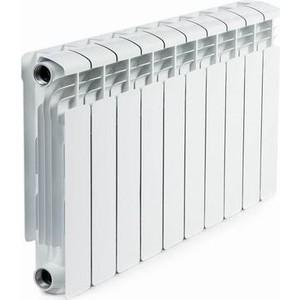 Радиатор отопления RIFAR ALUM 350 10 секций аллюминиевый боковое подключение (RAL35010) termolux a80 350 ral9016 10 секций
