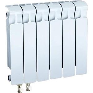 Радиатор отопления RIFAR MONOLIT VENTIL 350 6 секций биметаллический нижнее левое подключение (RM35006НЛ50) цена